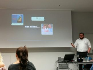 Präsentation bei den Social-Media-Days Calw 2016